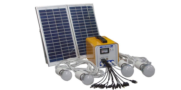 Home Solar Lighting Application